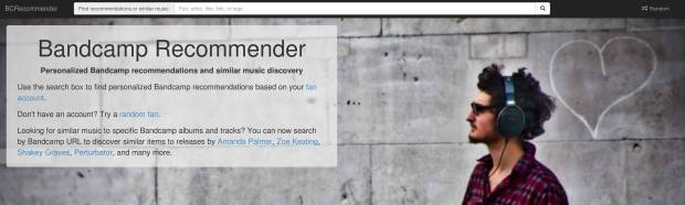 BCRecommender homepage